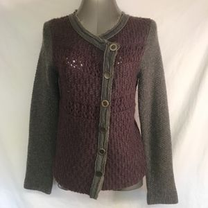 Free People Sweater Jacket- Small
